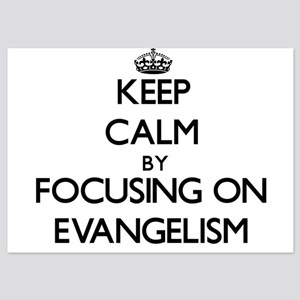 Keep Calm by focusing on EVANGELISM Invitations