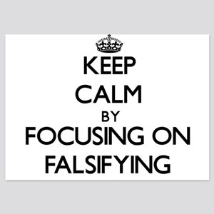 Keep Calm by focusing on Falsifying Invitations