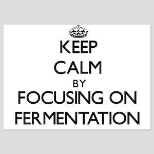 Keep Calm by focusing on Fermentation Invitations