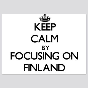 Keep Calm by focusing on Finland Invitations