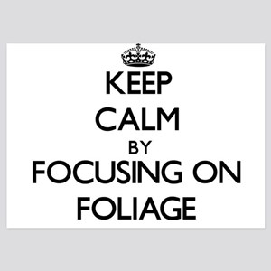 Keep Calm by focusing on Foliage Invitations