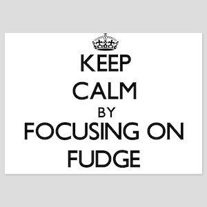 Keep Calm by focusing on Fudge Invitations