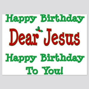 Happy Birthday Jesus 5x7 Flat Cards