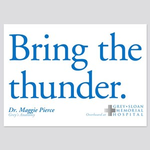 Bring the Thunder 5x7 Flat Cards
