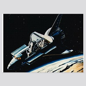 shuttle 5x7 Flat Cards