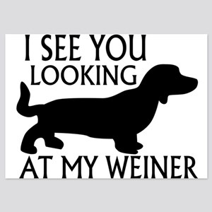 Looking At My Weiner 5x7 Flat Cards