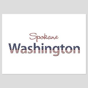 Custom Washington 5x7 Flat Cards