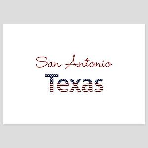 Custom Texas 5x7 Flat Cards