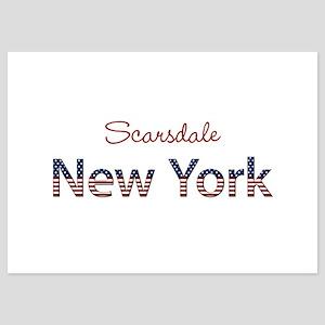 Custom New York 5x7 Flat Cards