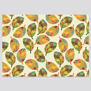 Autumn Leaves- 5x7 Flat Cards Invitations
