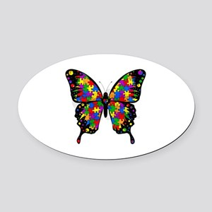 Autism Oval Car Magnet