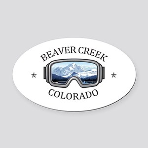 Beaver Creek Resort - Beaver Cre Oval Car Magnet