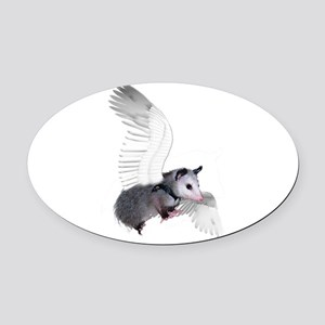 possum15ang Oval Car Magnet