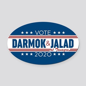 Darmok And Jalad 2020 Oval Car Magnet