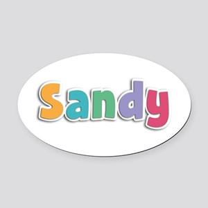 Sandy Spring11 Oval Car Magnet
