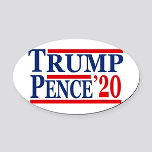 Trump Pence 2020 Oval Car Magnet