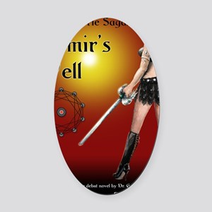Mimirs Well small poster Oval Car Magnet