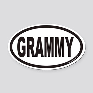 GRAMMY Euro Oval Car Magnet