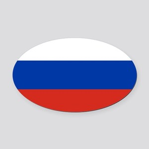 Russia - National Flag - Current Oval Car Magnet