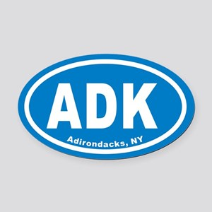 ADK Euro Oval Car Magnet