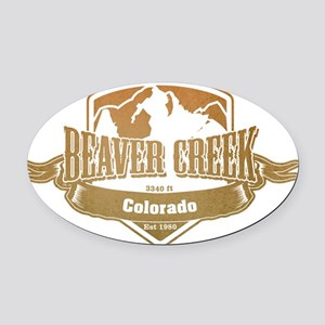 Beaver Creek Colorado Ski Resort 4 Oval Car Magnet