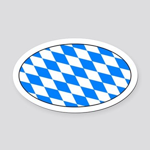 Bayern Raute Automagnet - Bavarian Oval Car Magnet