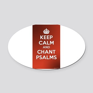 KEEP CALM - JESUS PRAYER Oval Car Magnet