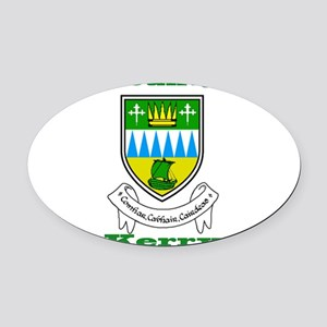 County Kerry COA Oval Car Magnet