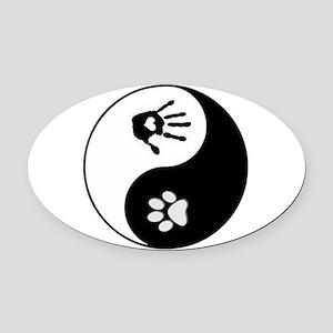 Yin Yang Cat Car Accessories - CafePress
