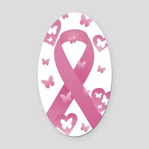 1ddf7defadd Breast Cancer Car Magnets - CafePress