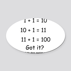 2-Got it Oval Car Magnet