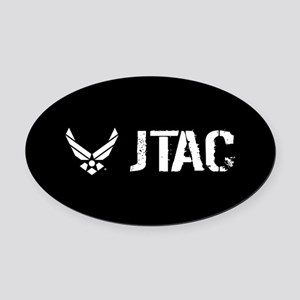 USAF: JTAC Oval Car Magnet