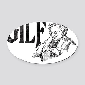 gilf02 Oval Car Magnet