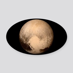 Pluto Oval Car Magnet