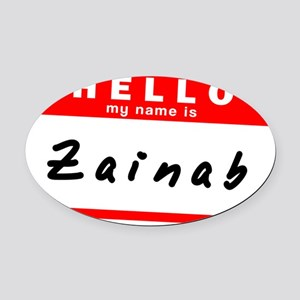 Zainab Name Car Accessories - CafePress
