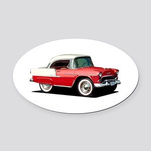 BabyAmericanMuscleCar_55BelR_Xmas_Red Oval Car Mag