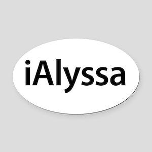 Female Name Alyssa Car Magnets Cafepress