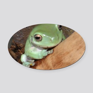 hellofrog Oval Car Magnet