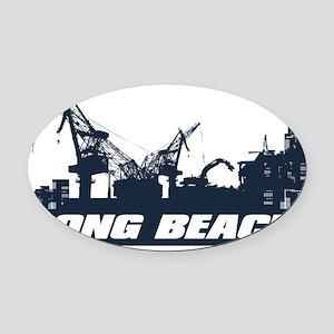Long Beach California Car Magnets - CafePress