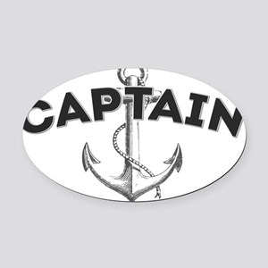 Captain copy Oval Car Magnet