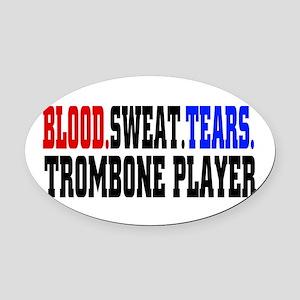 Music Trombone Car Magnets - CafePress