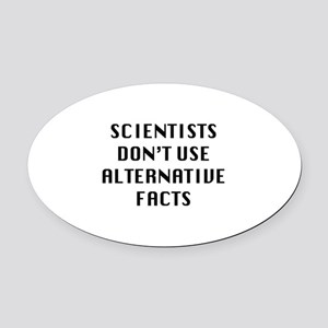 Scientists Oval Car Magnet