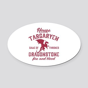 House Targaryen Oval Car Magnet