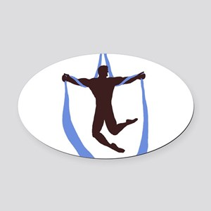 welhung no words Oval Car Magnet