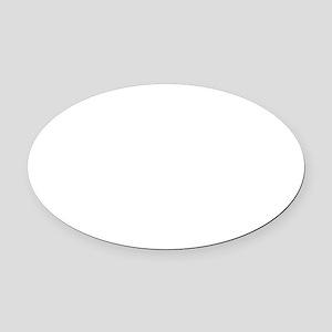 Burne-Jones' Nativity Oval Car Magnet