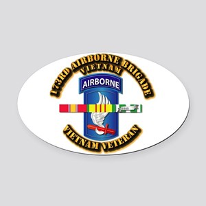 Army - 173rd Airborne Brigade w SVC Ribbons Oval C