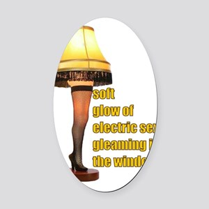 Electric Sex Oval Car Magnet