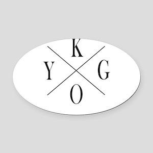 KYGO Oval Car Magnet
