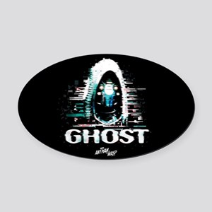 Ant-Man & The Wasp - Ghost Oval Car Magnet