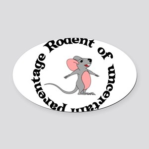 rodent01 Oval Car Magnet
